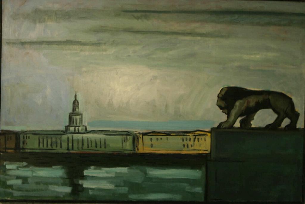 Санкт-Петербургский пейзаж.